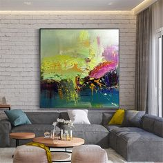 Abstract gold art painting on canvas wall art pictures for living room home decor original acrylic art blue thick texture quadros decoracion Abstract Canvas, Abstract Paintings, Art Paintings, Indian Paintings, Painting Canvas, Watercolor Painting, Landscape Paintings, Photo D Art, Canvas Wall Decor