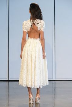 Backless Wedding Dresses with Pretty Details | Brides.com