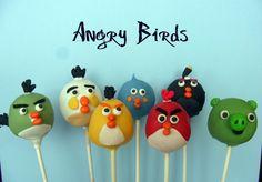 Angry Birds Cake Pops  http://www.digitalmomblog.com/blog/2011/04/26/angry-birds-cakes-cupcakes/