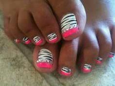 Diseño uñas de pies