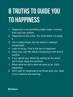 We can choose and learn to be happy
