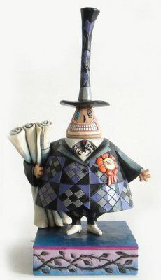 'Two Faced Politician' - Mayor of Halloweentown figurine (Jim Shore) from Fantasies Come True