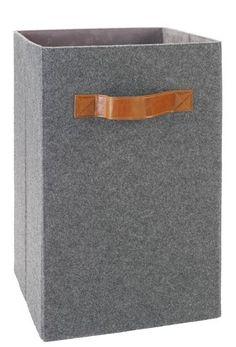 Aufbewahrungsbox Grau Filz