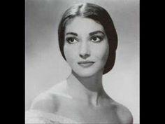 Maria Callas - Donde Lieta Uscì - YouTube