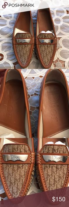 Authentic Dior Loafers Authentic Dior loafers. Only worn once. In great condition. No box and no dust bag. No trades. Christian Dior Shoes Flats & Loafers