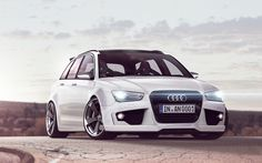 Audi S4 Stance Tuning White HD Wallpaper is ready to download for Standard, Fullscreen, Widescreen, iphone and High Definition Desktop Backgrounds