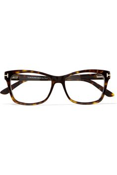 63f2d5add6 TOM FORD - Square-frame tortoiseshell acetate optical glasses