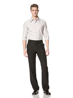 72% OFF MARNI Men\'s Flat-Front Trousers (Noir)