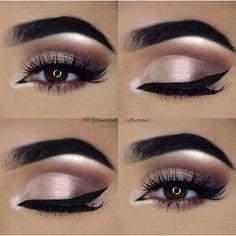 "Makeup: Asma @glamorous_reflections on Instagram: ""#repost of one of my own favourite looks. . . Product details for this look:  . ____BROWS___…"""