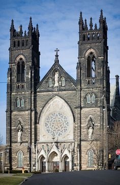 St. Mary's Catholic Church, Massillon, Ohio by metroblossom, via Flickr