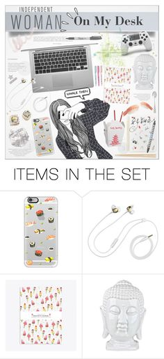 """""""1. On My Desk"""" by paty ❤ liked on Polyvore featuring art"""