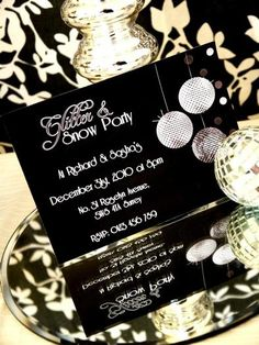 LOVE this for a new years party!!