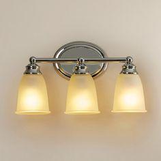 Charlton Home Farmersburg 3 Light Vanity Light Bulb Type: Incandescent, Finish: Chrome