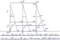 Buisframe - vrijstaand spandoek-steigerdoekframe met full colour spandoek - 300x400 cm en 170 cm boven maaiveld - Vision-line