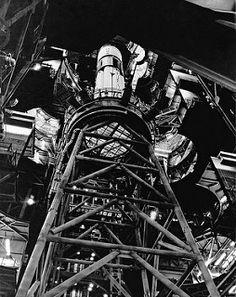Skylab 2/Saturn 1b rocket in the VAB, September 29, 1972 | by Dan Beaumont Space Museum