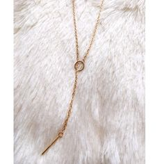 JEWELRY BUNDLE ✨NWT GOLD LARIAT BAR NECKLACE bundle includes statment necklace & gold bodychain Jewelry Necklaces