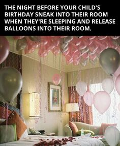 Decorate A Hotel Room For Birthday Parties