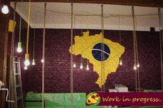 We <3 Brazil :)  #Poznań #Brazil #newCafe #Sorrir #CafeSorrir #PasażApollo #Apollo Brazil Cafe