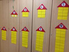 Zahlenhäuser Mathe Klasse 1