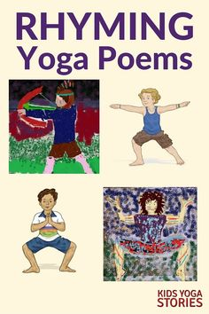 4 Rhyming Poems for Kids Yoga | Kids Yoga Stories