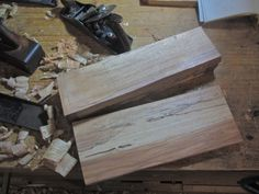 Making a Joiner's Mallet Woodworking Mallet, Woodworking Skills, Pecan Wood, Miter Saw, Making 10, Workshop, Blog, How To Make, Atelier