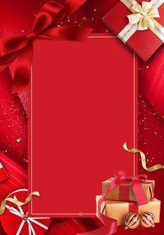 The Background Of Gift Box Ribbon Luxury Black Gold Party Red Background Images, Flower Background Wallpaper, Flower Backgrounds, Colorful Backgrounds, Christmas Gift Background, Birthday Background, Christmas Wallpaper, Happy Holidays Greetings, Red Gift Box