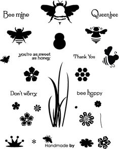 Honey Bees Stamp Set: Papertreyink