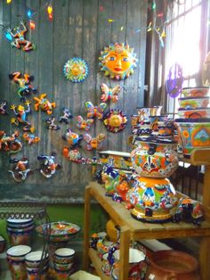 Talavera Pottery At Rolling Ridge Nursery (Webster Groves, MO)