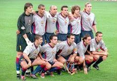 Equipos de fútbol: BARCELONA 2000-2001