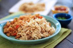 Whole Fork | Crock Pot Mexican Chicken | http://wholefork.com