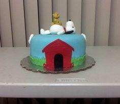 Pastel de Snoopy/ Snoopy cake