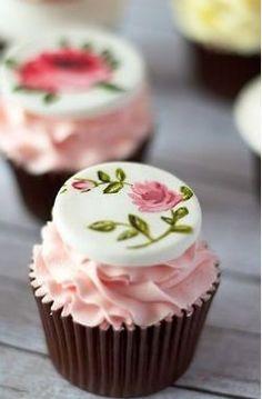 Floral Cupcake Decorations