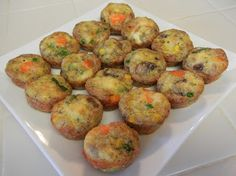 Shelly's Chicken Pot Pie Bites (aka Crustless Quiche) #lowcarb #healthy #recipes #football