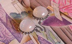 Vintage Moonstone Shoe Clips ala Charleston by frenchhen1 on Etsy, $22.00
