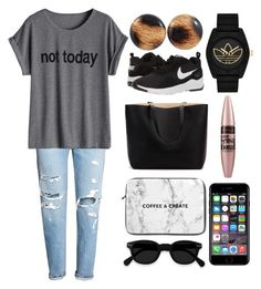"""""""Leopard Patent Leather Fabric Studs"""" by lionaleedesigns on Polyvore featuring NIKE, adidas, Maybelline and Off-White"""