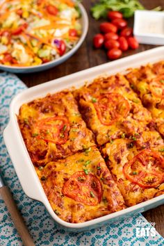 Spicy Mexican Chicken Lasagne - all the delicious flavours of Mexican food in this family-friendly lasagne recipe. I don't know about you, but I love lasagne. Lasagne is such a great dish for the family. Slimming World Lasagne, Slimming World Pasta Bake, Slimming World Chicken Recipes, Slimming World Recipes Syn Free, Chicken Recipes For Kids, Slimming Eats, Slimming Workd, Spicy Chicken Recipes, Family Recipes