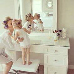 Mom and daughter brings beauty Mom Daughter, Daughters, Bridesmaid Dresses, Wedding Dresses, Mothers Love, Mother And Child, Mommy And Me, Wedding Pictures, Baby Photos