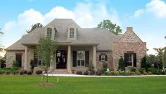 Madden Home Design - Acadian House Plans, French Country House Plans Photo Gallery Acadian Homes, Acadian House Plans, French Country House Plans, European House Plans, French Country Bedrooms, French Country Decorating, Country French, Big Country, Country Style