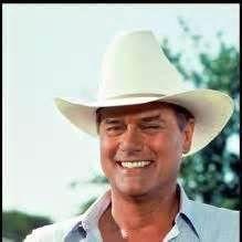 Larry Hagman as J. Ewing on Dallas I Dream Of Jeannie, Olivia De Havilland, Dallas Tv Show, Larry Hagman, Mary Martin, Columbia, Classic Series, Handsome Actors, Old Tv