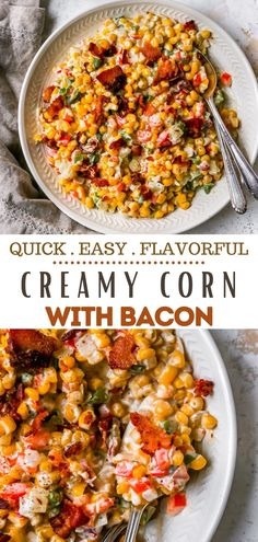 This creamed corn is the best creamy corn recipe ever!