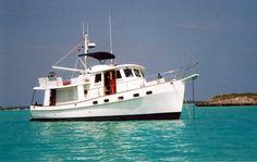 1997 Used Kadey Krogen Raised Pilothouse Trawler Pilothouse Boat ...