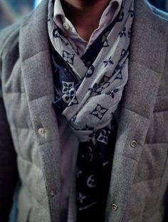 Fancy - I LIKE IT! Louis Vuitton scarf