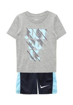 Костюм спортивный, Nike, цвет  мультиколор. Артикул  NI464EBSZN69.  Мальчикам   Спорт   Одежда для мальчиков   Спортивные костюмы b3ab9a3a046