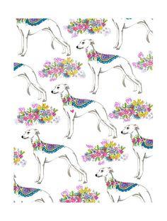 #dog #pattern #greyhound