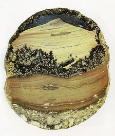 Stunning landscape agate from Mexico.