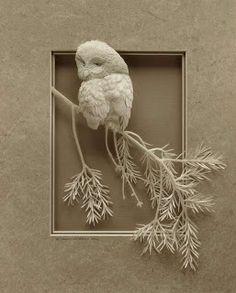 sculpture en papier _ Jeff Nishinaka