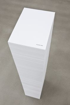 Ceal Floyer, p. 8680 of 8680 Conceptual Art, British, Cards Against Humanity, Kunst, Concept Art