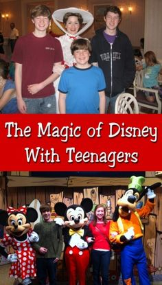 Doing Disney with teenagers - great stories (and inspiration) on taking your teens to Disney