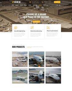 Zidex - Industrial & Factory WordPress Theme - ModelTheme Project Management, Wordpress Theme, Engineering, Industrial, Projects, Home, Log Projects, Blue Prints, Ad Home