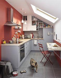 Des couleurs neutres dans la cuisine